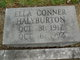 Profile photo:  Ella <I>Conner</I> Halyburton
