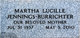 Martha Lucille <I>Camfield</I> Burrichter