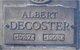 Profile photo:  Albert A Decoster