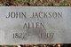 Profile photo:  John Jackson Allen