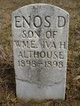 Enos D Althouse