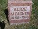 Profile photo:  Alice A <I>Sexton</I> Meacher