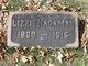 "Profile photo:  Ann Elizabeth ""Lizzie"" <I>Lucas</I> Hagaman"
