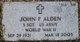 Profile photo:  John F Alden