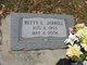 Profile photo:  Betty L <I>Qualls</I> Jarrell
