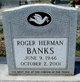 Profile photo:  Roger Herman Banks