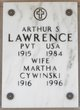 Profile photo: Private Arthur S Lawrence