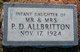 Infant Daughter Allbritton