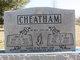 Mary Odessa <I>Perry</I> Cheatham