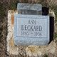 "Profile photo:  Ann ""Annie"" <I>Phillips</I> Deckard"