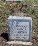 Indiana Vannie Carter