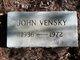 John Vensky