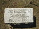 Profile photo:  Catherine Mary Campbell