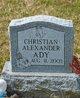 Profile photo:  Christian Alexander Ady