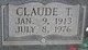 """Claude T. """"Tom"""" Scruggs"""