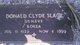 Donald Clyde Slack