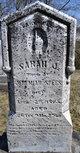 Sarah Jane <I>Howe or Howell</I> Spees