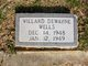 Willard Dewayne Wells