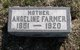 Frances Angeline <I>Steele</I> Farmer