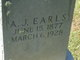 Profile photo:  A. J. Earls