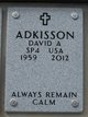 Profile photo:  David Allen Adkisson Sr.