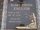 Blake Pinson English
