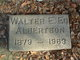 "Walter Edgar ""Ed"" Albertson"