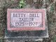 Profile photo:  Betty Dell Taylor