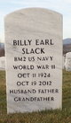 Profile photo:  Billy Earl Slack