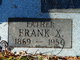 Frank Xavier Aaron