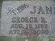 "Profile photo:  George Edgar ""Bub"" Jansen"