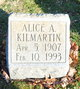 Profile photo:  Alice Ann <I>Gallagher</I> Kilmartin