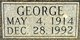 Profile photo:  George Adams