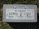 Edwin O Cole