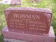 Nancy Ellen <I>Watson</I> Bowman