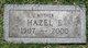 Hazel E. <I>Flohr</I> Dentler