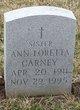 Profile photo: Sr Ann Loretta Carney