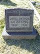 "Profile photo:  Louis Arthur ""Art"" <I>Quick</I> Andrews"