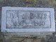 Iva M <I>Lynn</I> Baker