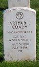 Profile photo:  Arthur J Coady