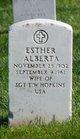 Esther Alberta <I>Whitestine</I> Hopkins