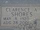 Profile photo:  Clarence A Shores