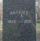 """Profile photo:  Harriet """"Hallie"""" Fitzgerald"""