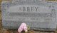 "Profile photo:  Alonzo George ""Lonnie"" Abbey"
