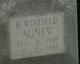 Benjamin Winfield Agnew