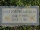 Profile photo:  John Roland Adams, Sr