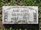 Profile photo:  Ada Loyd Nicholson