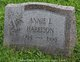 Profile photo:  Annie L. <I>Alford</I> Harrison