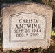 Christa Antwine