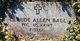 Claude Allen Ball